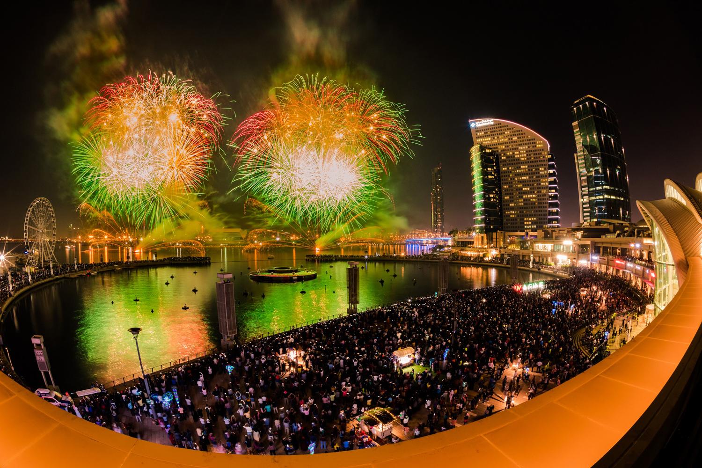 جشن روز ملی دبی