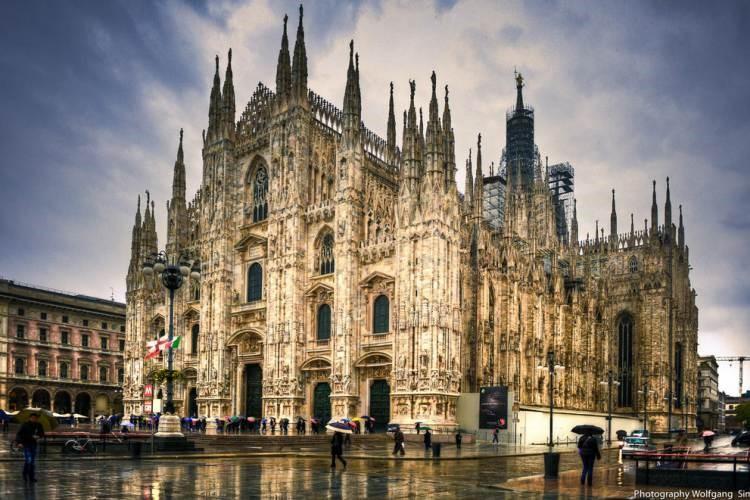 کلیسای جامع میلان ایتالیا