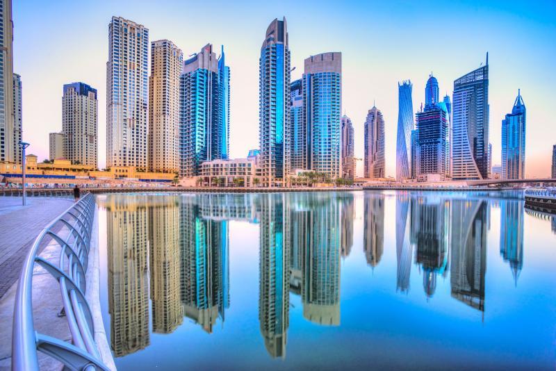 جاذبه های گردشگری دبی - اسکی و جزایر نخلی